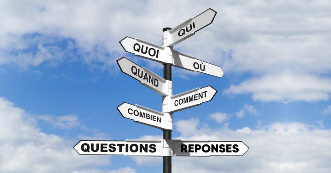 Foire aux questions - Transport et Déménagement