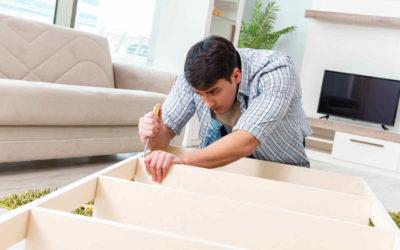 Démontage et montage des meubles lors d'un déménagement