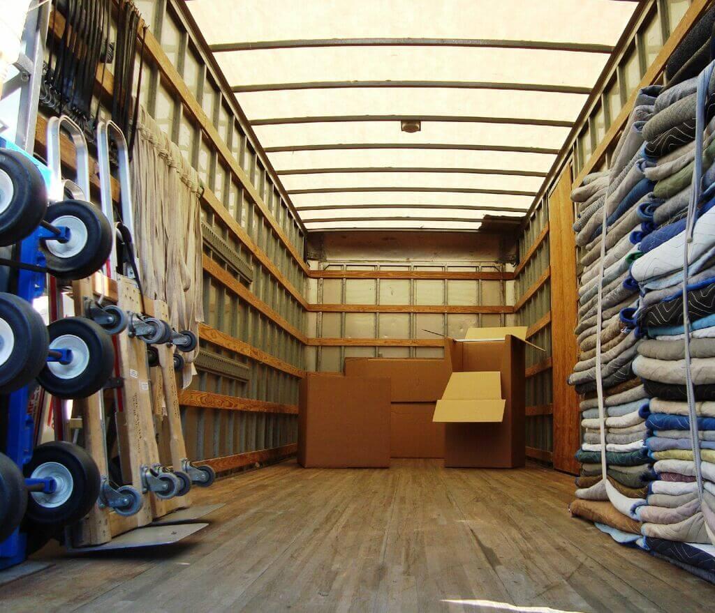 Les équipements de déménagement